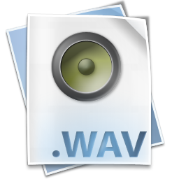 Filetype wav icon