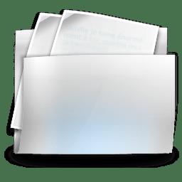 Folder my documents icon