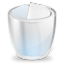 Desktop trash full icon