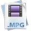 Filetype mpg icon