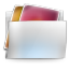 Folder-my-pictures icon
