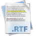Filetype-rtf icon