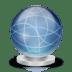 Network-globe-offline icon
