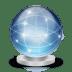 Network-globe-online icon