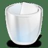 Desktop-trash-full icon