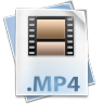 Filetype-mp-4 icon