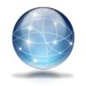 Network-globe icon