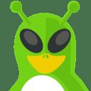 Alien Tux icon