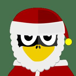 Santa Tux icon