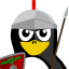 Roman Soldier Tux icon