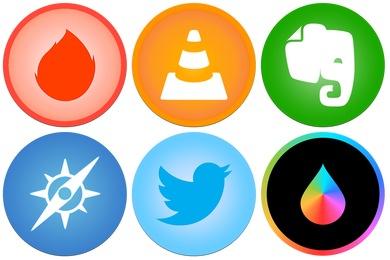 iOS7ish Style Icons