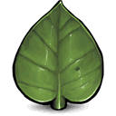 Leaf icon