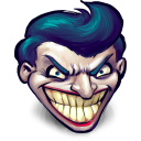 http://icons.iconarchive.com/icons/mattahan/ultrabuuf/128/Comics-Batman-Joker-icon.png