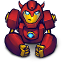 Comics Hero Red 2 icon