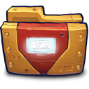 Comics Ironman Folder icon