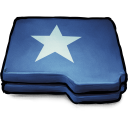 Folder Blue Star icon