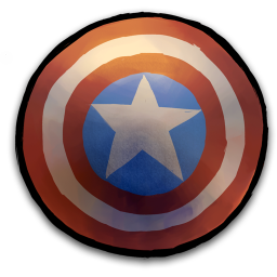 Comics Captain America Shield icon