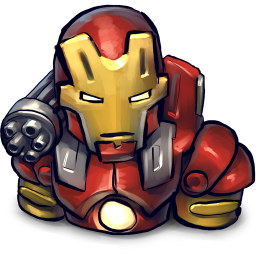 Comics Ironman Red icon