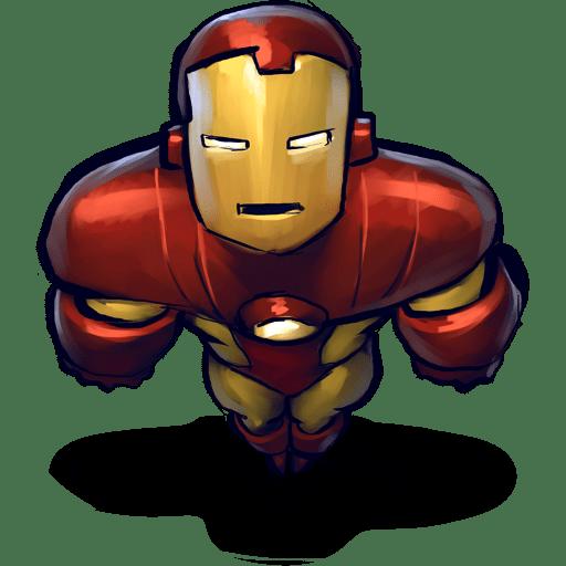 Comics Ironman Flying icon