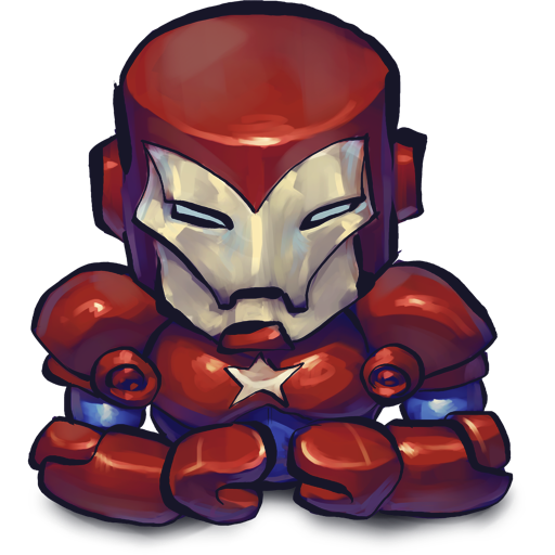 Comics Ironman Patriot icon