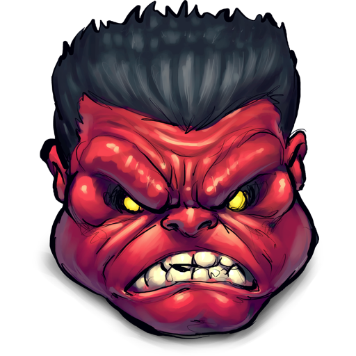 Comics Rulk Angry icon