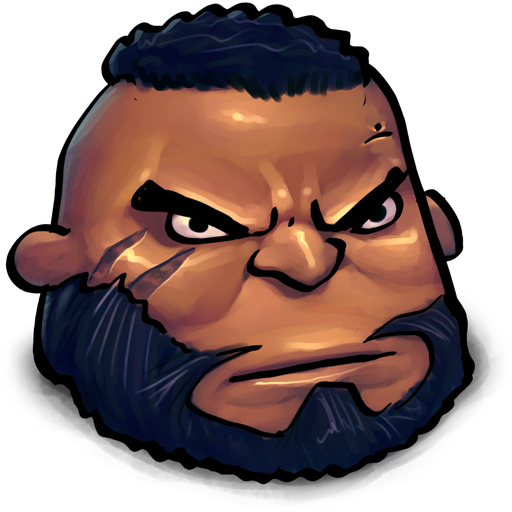 Final Fantasy Barret Wallace icon