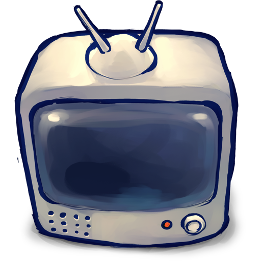 Things Television Icon Ultrabuuf Iconset Mattahan