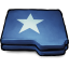 Folder-Blue-Star icon