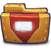 Comics-Ironman-Folder icon