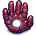 Comics-Ironman-Hand icon