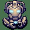 Comics-Hero-Grey icon