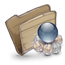 Folder Folder Garbage Globe icon