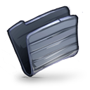 Folder Graphite ish icon