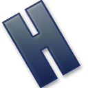 Letter H icon