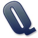 Letter-Q icon