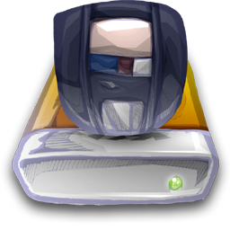Device Zip Drive icon