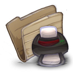 Folder printers icon