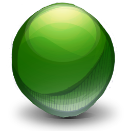 Mics Pointless Green Sphere icon