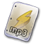 Filetype-mp-3 icon