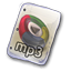 Filetype mp 32 icon