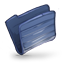 Folder Dark Blue icon