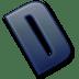 Letter-D icon