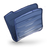 Folder-Dark-Blue icon