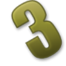 Number-3 icon