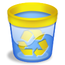 Papelera vacia recycle icon