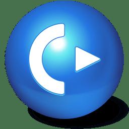Cute Ball Logoff icon
