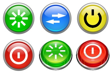 Aqua Pause Icon | I Like Buttons Iconset | MazeNL77