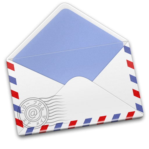 Airmail Stamp Icon Airmail Iconset Mcdo Design