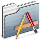 Applications-Folder-graphite icon