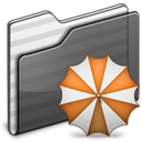 Backup-Folder-black icon